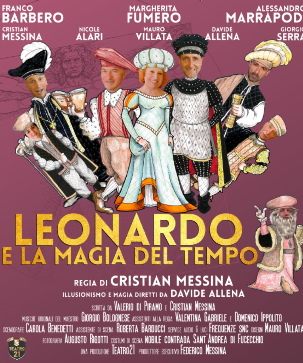 Leonardo e la magia del tempo