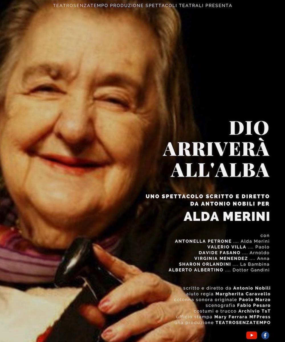 Dio arriverà all'alba - omaggio a Alda Merini