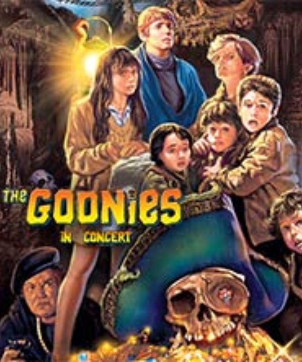The Goonies in concert