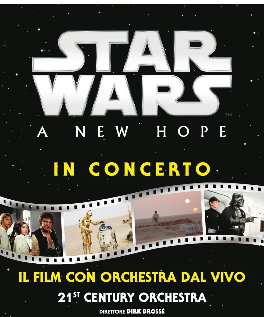 Star Wars: A New Hope in concerto