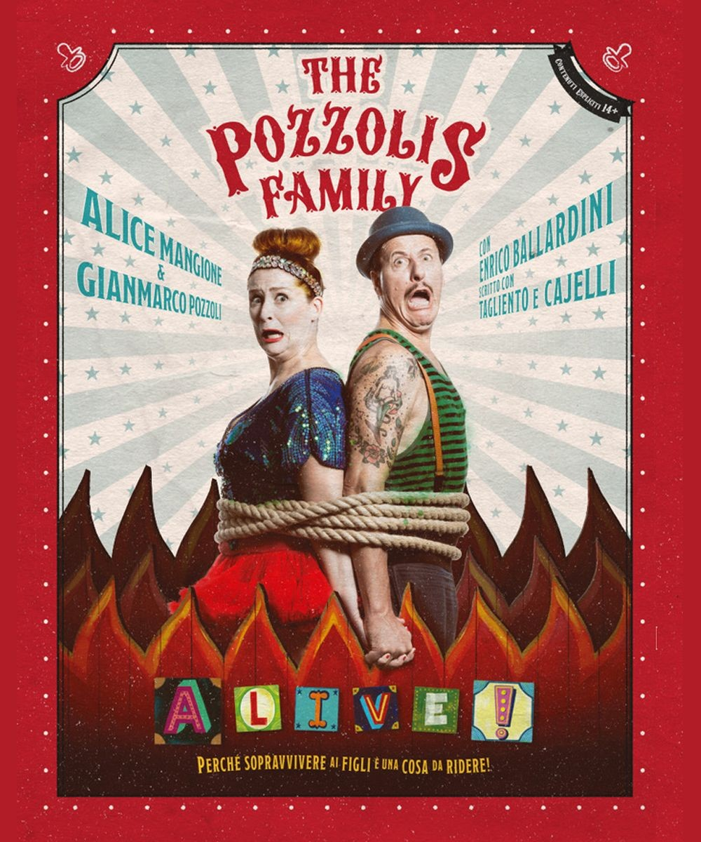 The Pozzolis Family - A-LIVE!