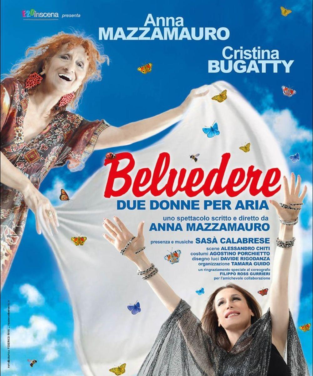 Belvedere, due donne per aria