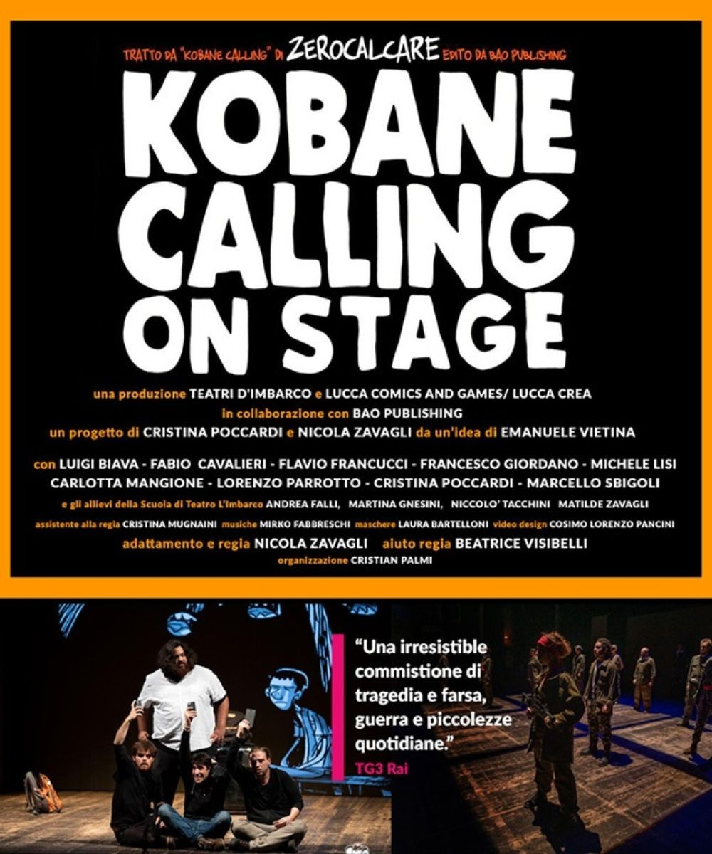 Kobane calling on stage