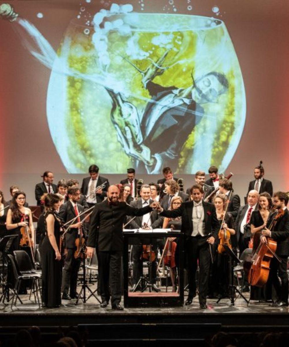Bollicine - Orchestra Senzaspine
