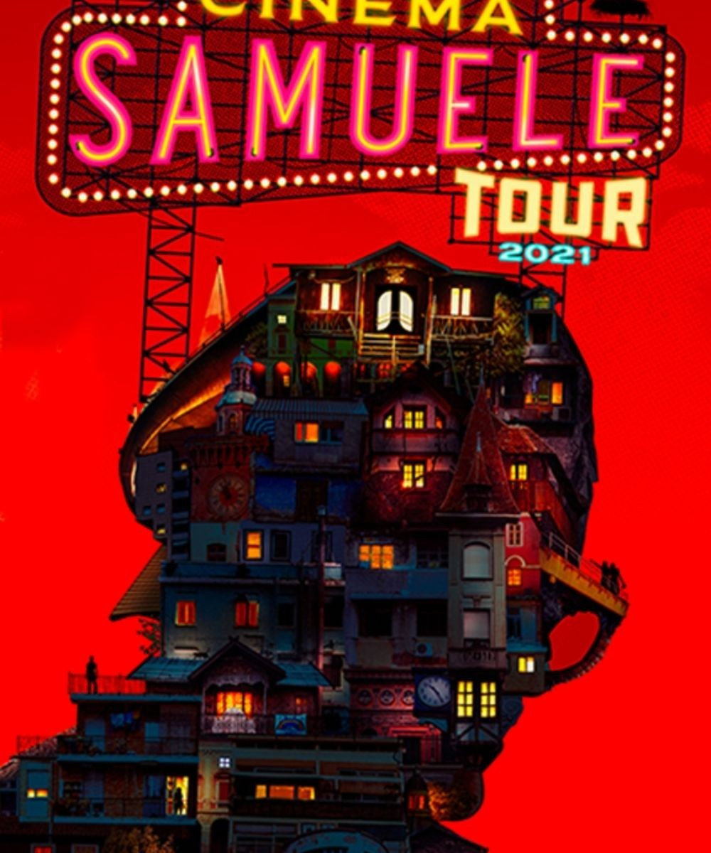 Cinema Samuele Tour - Samuele Bersani