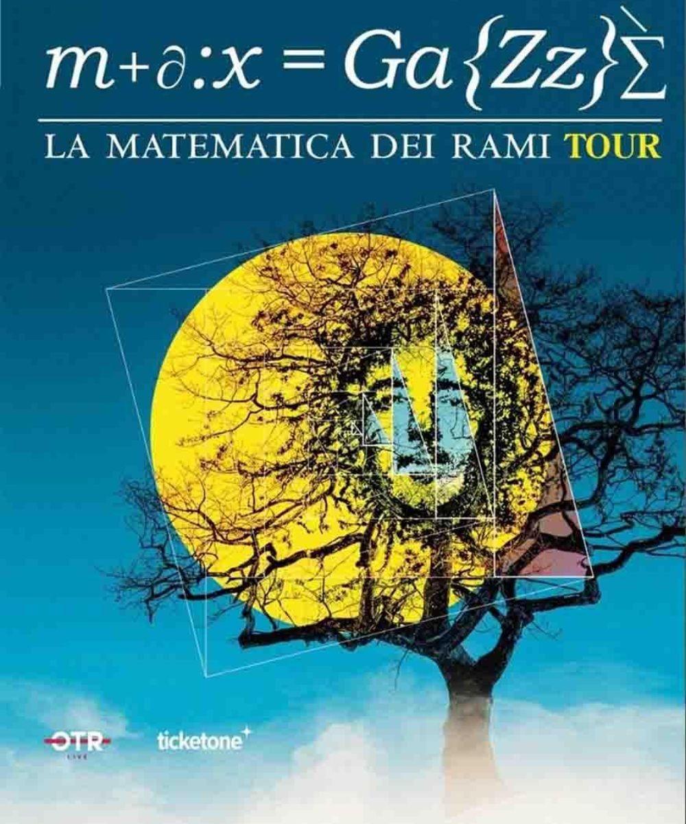 Max Gazzè - La matematica dei rami Tour