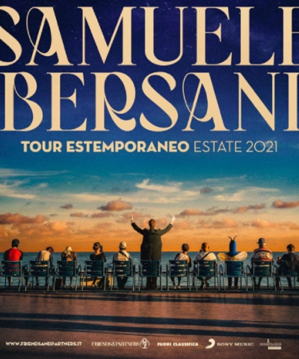Samuele Bersani - Tour Estemporaneo Estate 2021
