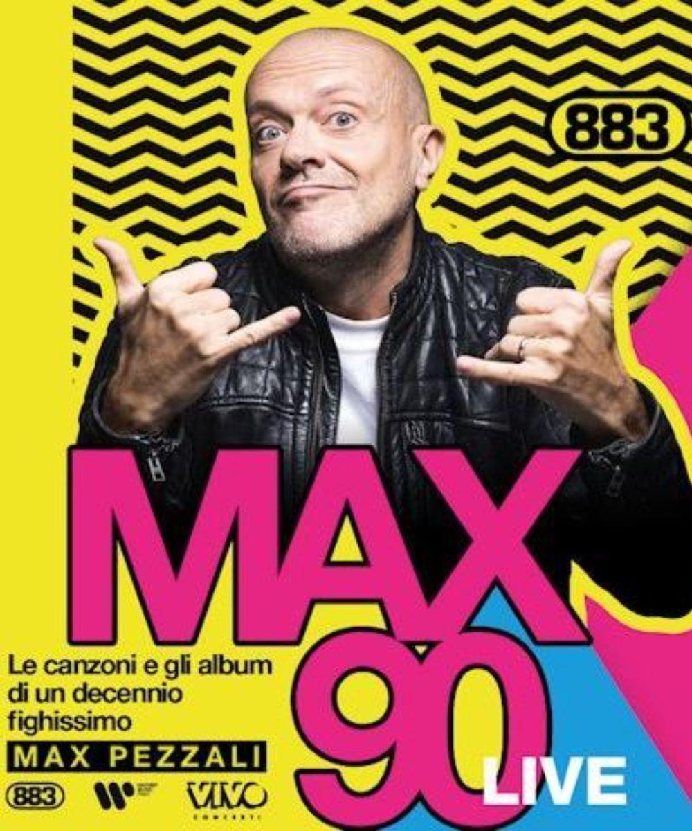 Max90 Live - Max Pezzali