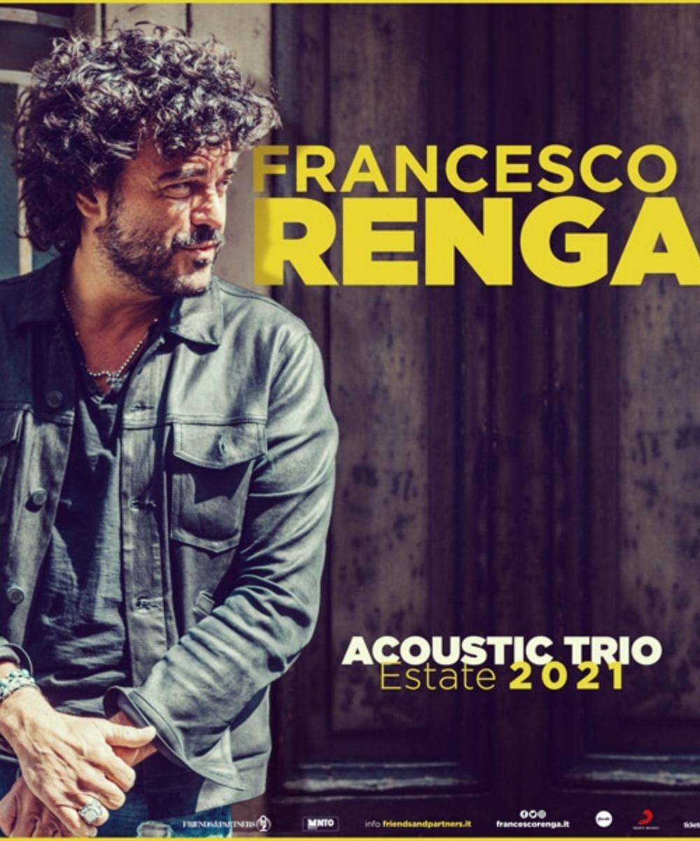 Francesco Renga - Acoustic Trio Estate 2021