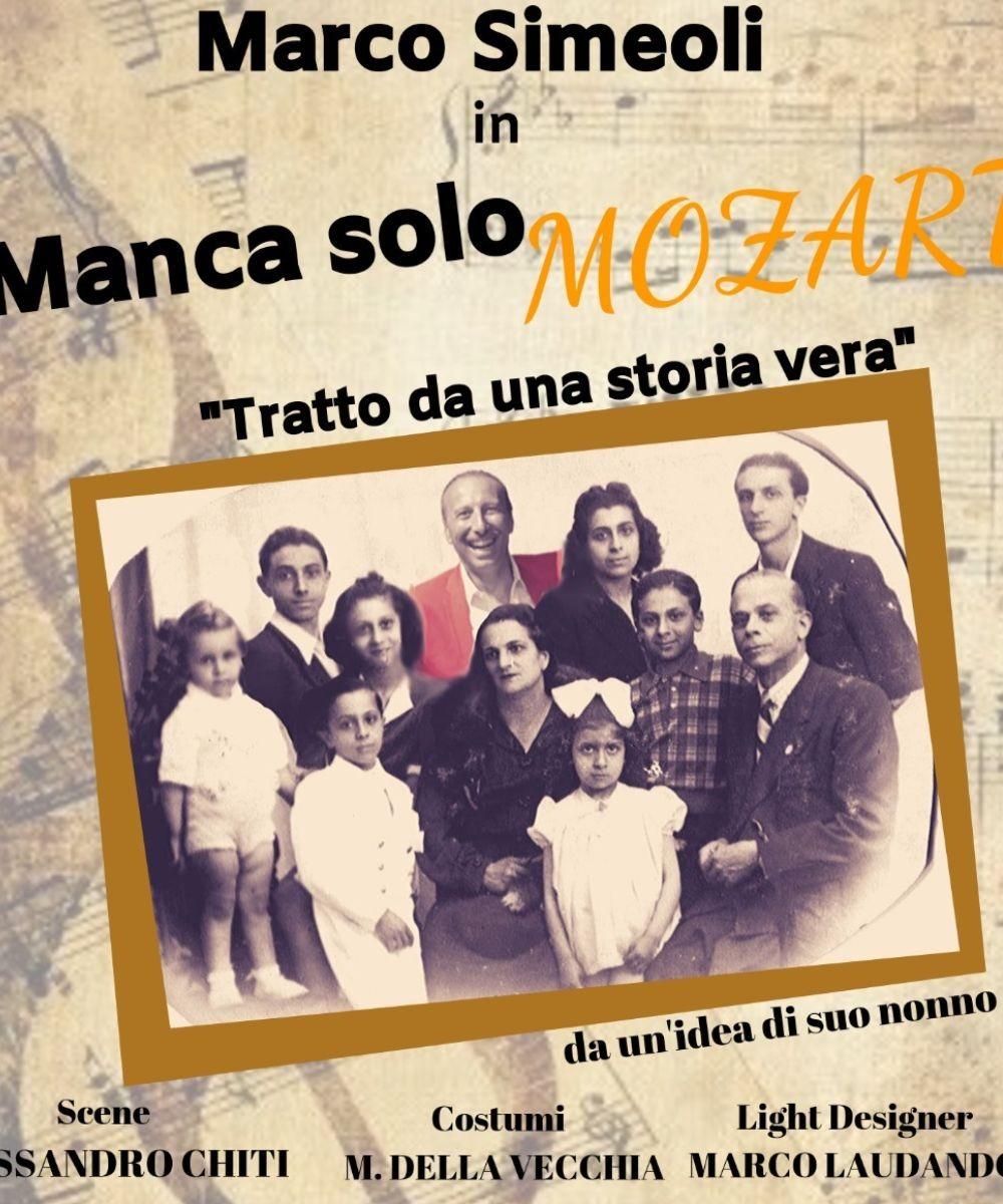 Manca solo Mozart - Marco Simeoli