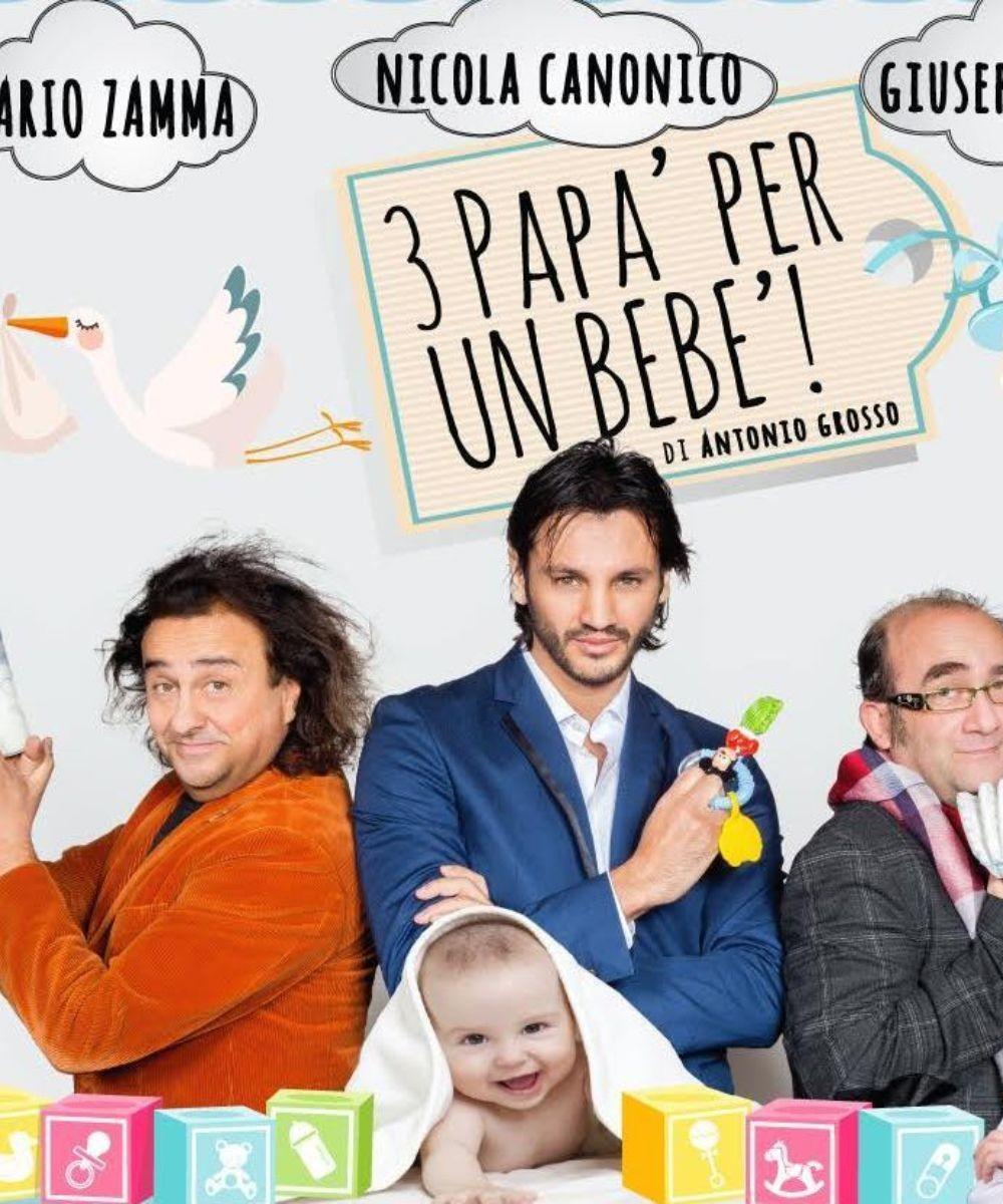 Tre papà per un bebè