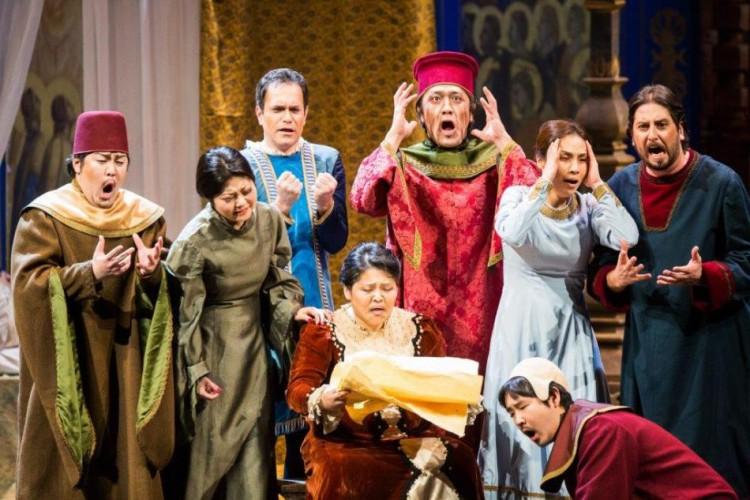 Una produzione di Kitakyushu City Opera a Trieste
