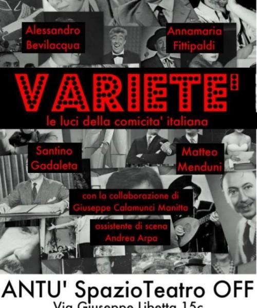 VARIETE' - Le luci della comicità italiana