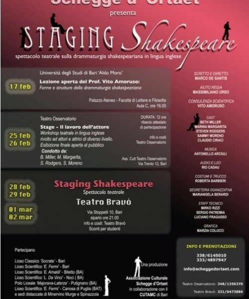 Staging Shakespeare