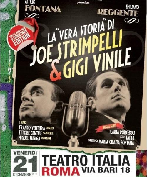 LA VERA STORIA DI JOE STRIMPELLI & GIGI VINILE