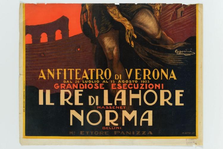 Le locandine teatrali delle Grafiche Ricordi al Museo Nazionale del Manifesto di Treviso
