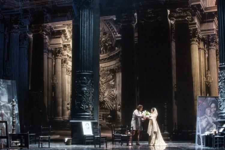 """La """"Tosca"""" di Puccini trova le giuste tinte nella rilettura di Carminati e De Ana"""