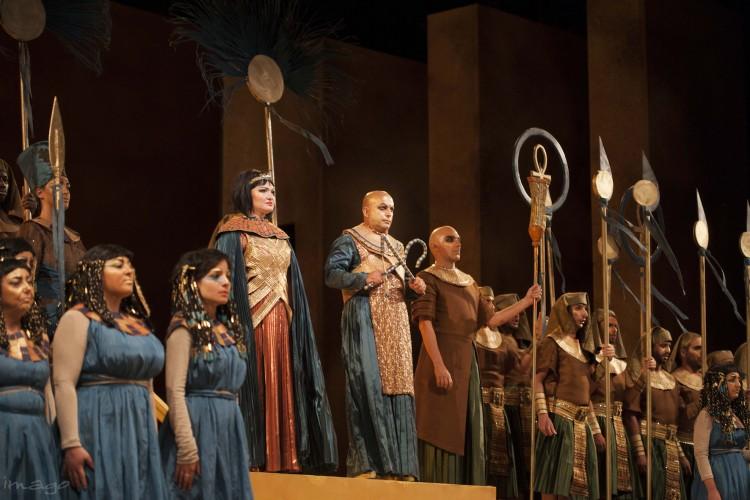 Aida, a Trapani tutto esaurito e grandi applausi