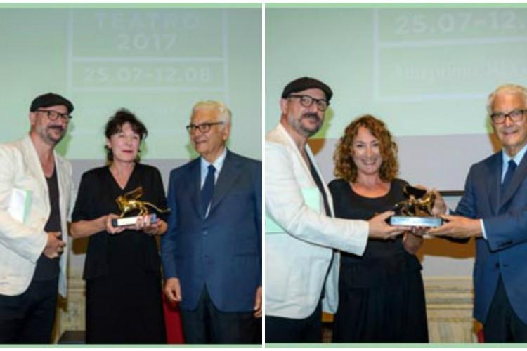 Biennale Teatro: consegnati Leoni d'oro e d'argento