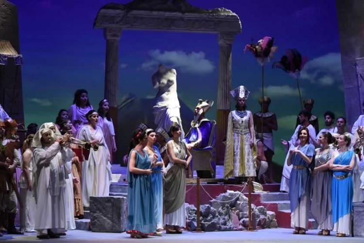 Giove a Pompei... in scena a Pompei