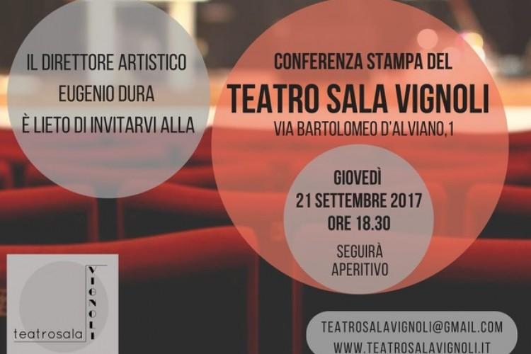 Conferenza stampa presentazione stagione Teatro Sala Vignoli