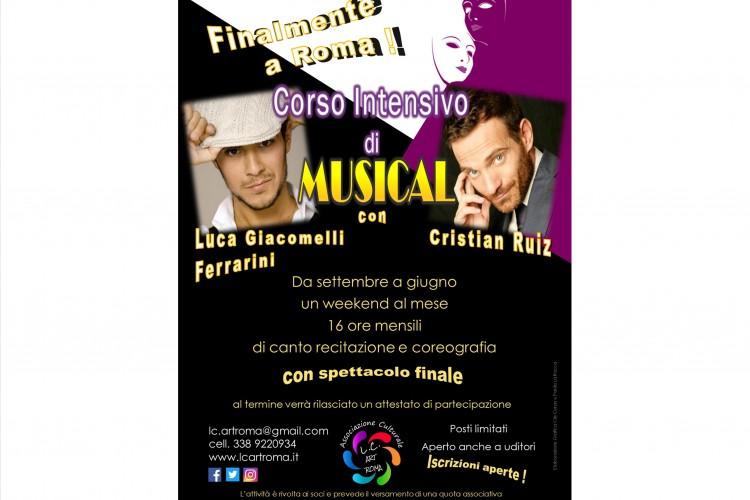 Corso di Musical con Luca Giacomelli Ferrarini e Cristian Ruiz