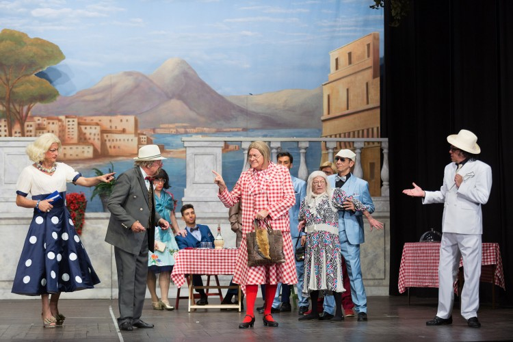 Al Teatro della Luna di Milano, l'omaggio dei Legnanesi a Totò