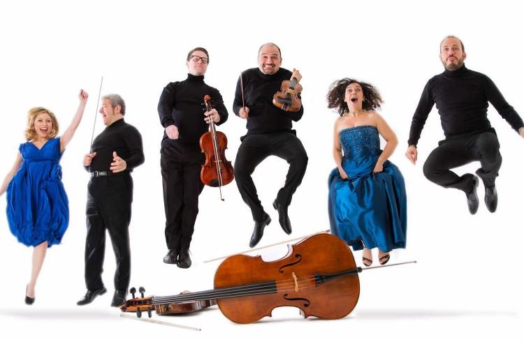 Il sestetto Stradivari al Parco della Musica di Roma