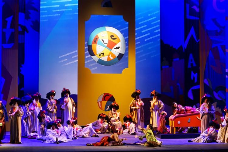 """La """"follia organizzata"""" di Rossini con i colori di Ugo Nespolo"""