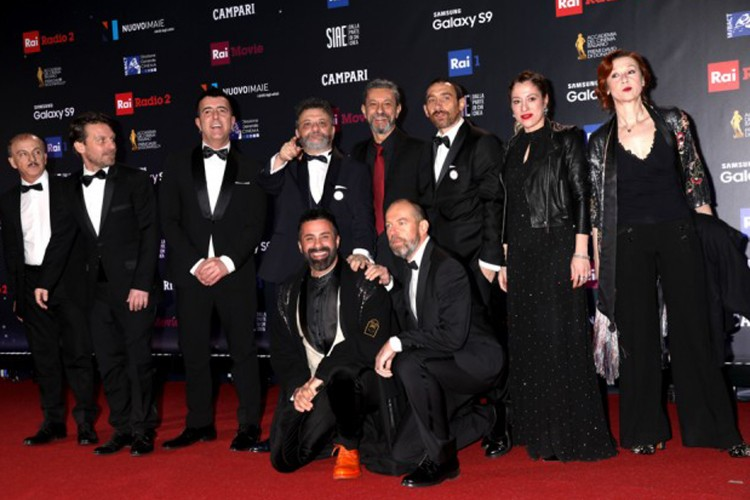 David di Donatello: gli Oscar del cinema italiano alla 62^ edizione