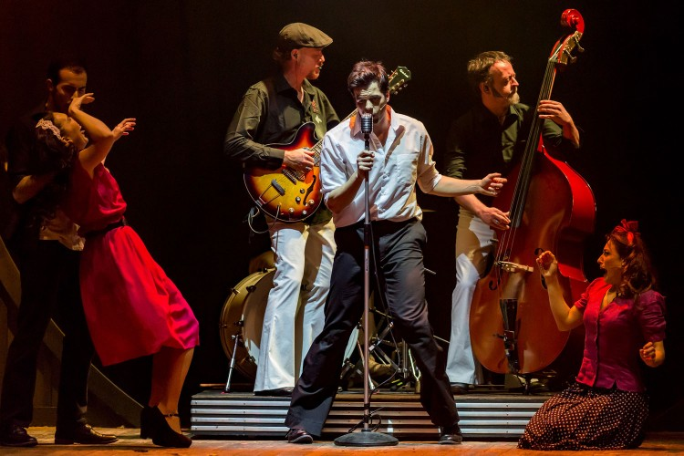 A Roma arriva Elvis, il Re del Rock, in versione musical