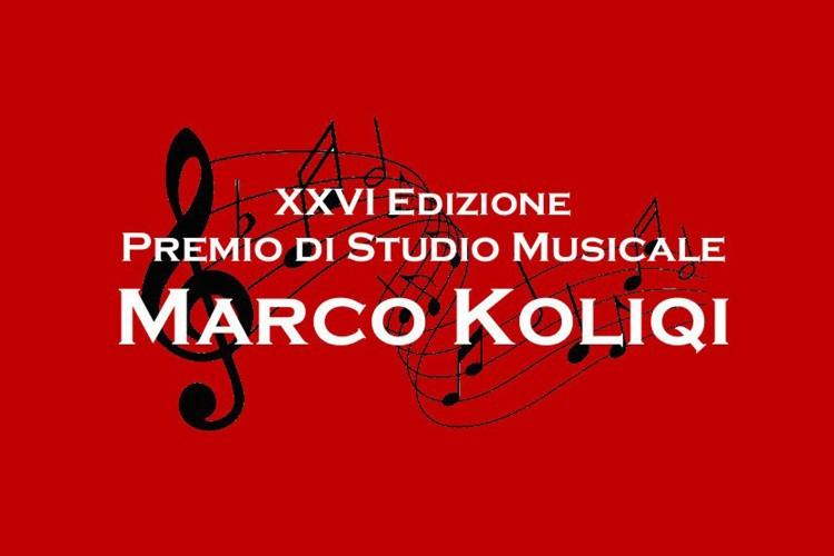 """Premio di Studio Musicale """"Marco Koliqi"""""""