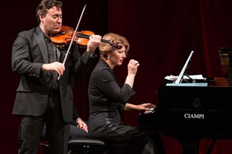 Maxim Vengerov e Polina Osetinskaya al Teatro Argentina