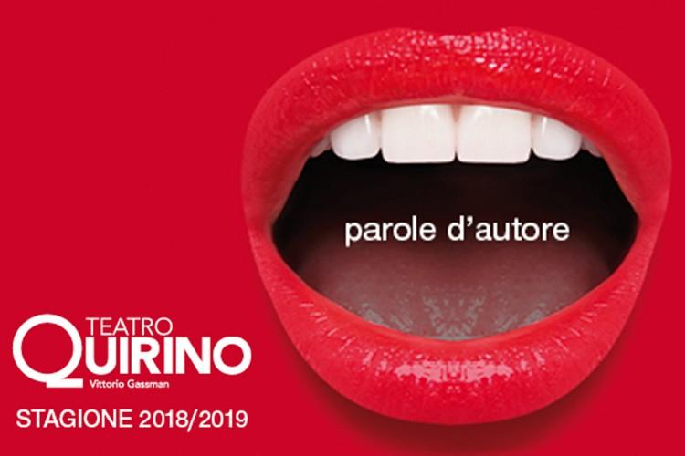 Quirino-Vittorio Gassman: presentata la stagione teatrale 2018-2019