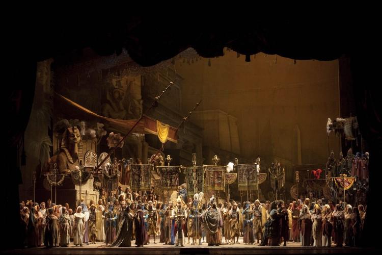 La Scala festeggia i 95 anni di Franco Zeffirelli con la ripresa di Aida