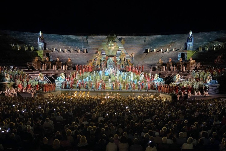 """Aida"" all'Arena di Verona"