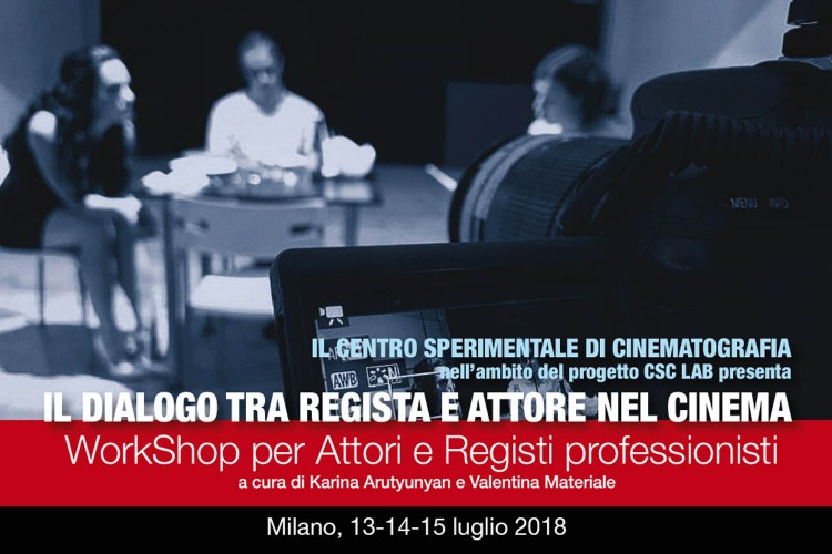 WorkShop a Milano per Attori e Registi professionisti