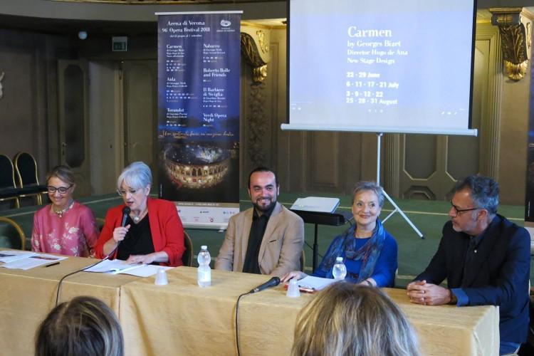 """""""Carmen"""" inaugura il 96° Festival dell'Arena di Verona"""