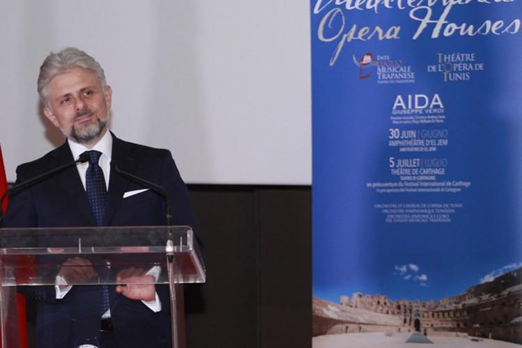 """L'Ente Luglio Musicale Trapanese porta l'""""Aida"""" in Tunisia"""