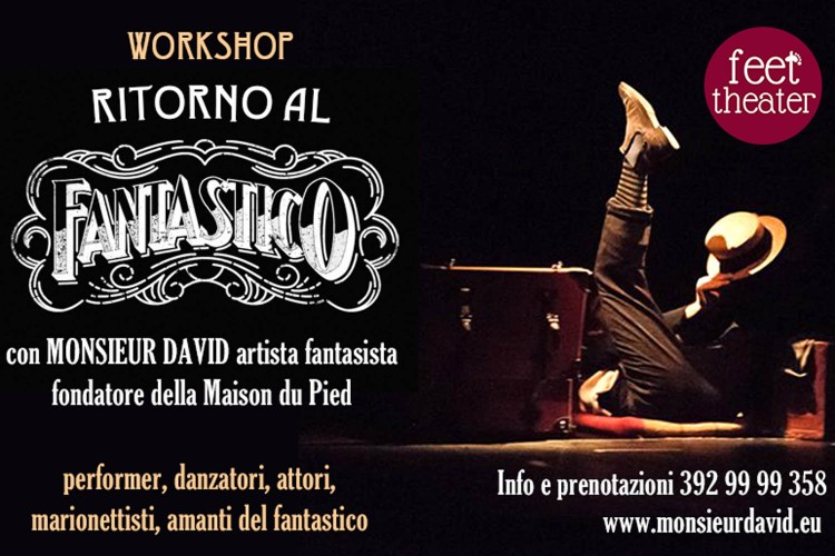 Ritorno al Fantastico: workshop con Monsieur David