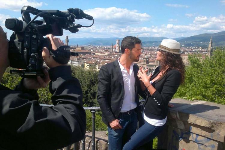 Set a Firenze per il nuovo videoclip di Luca Seta con Samantha De Grenet