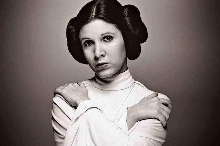 'Star Wars' perde la principessa Leila, addio all'attrice Carrie Fisher
