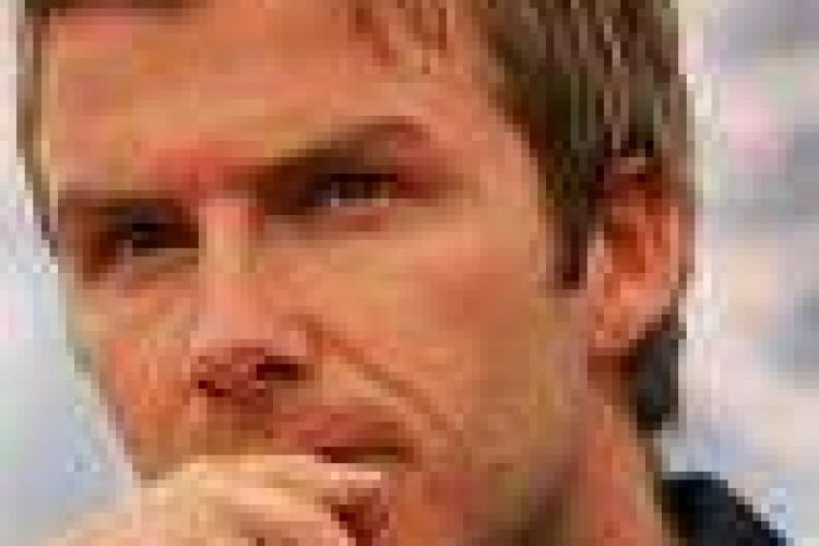 David Beckham attore in guerra