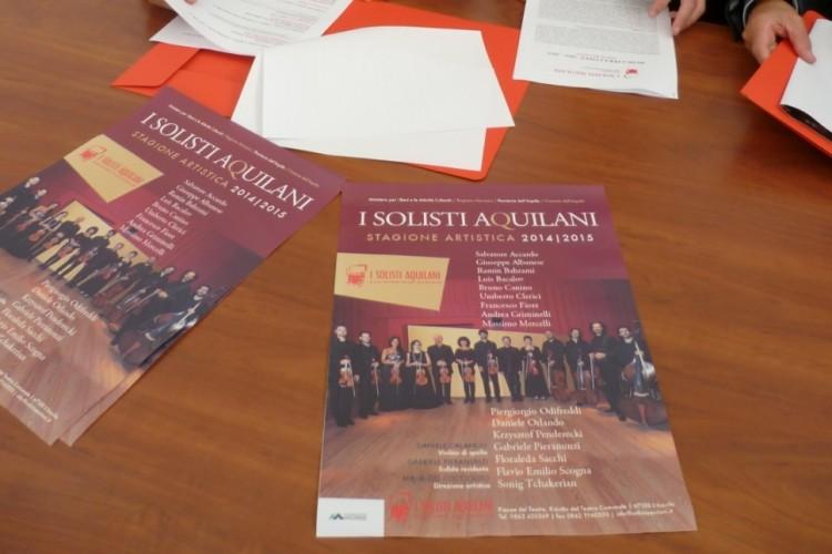 I Solisti Aquilani: un programma ricco di concerti ed eventi speciali