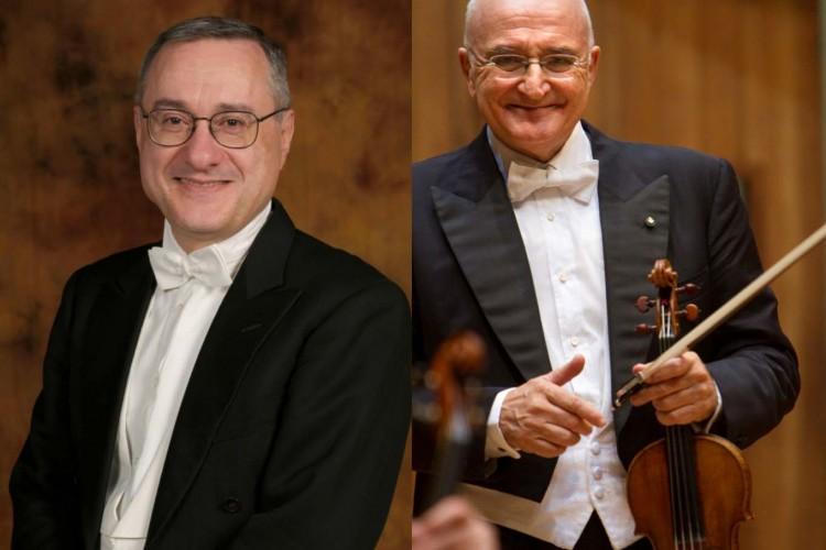 Salvatore Accardo e Michele Campanella a Napoli per Telethon