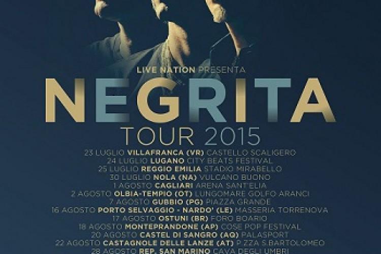 Negrita, dal 23 luglio il tour estivo