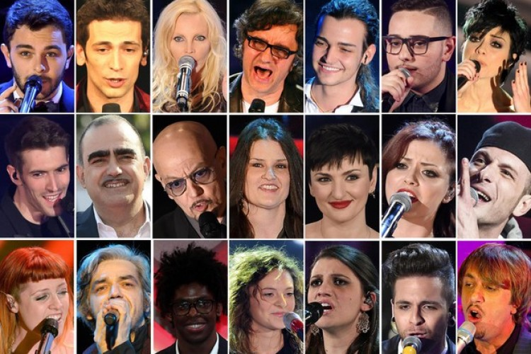 Sanremo 2016, gli artisti e le canzoni in gara