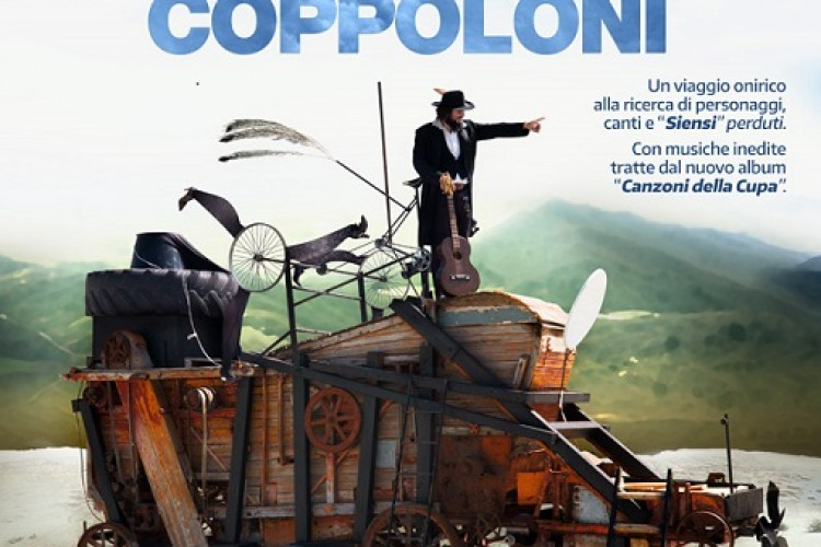 """Vinicio Capossela """"nel Paese dei Coppoloni"""": 19 e 20 gennaio al cinema"""