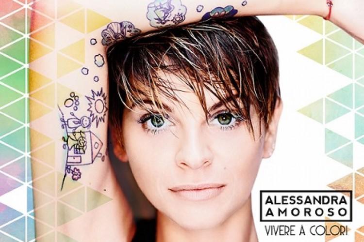 Alessandra Amoroso vuole 'Vivere a Colori'