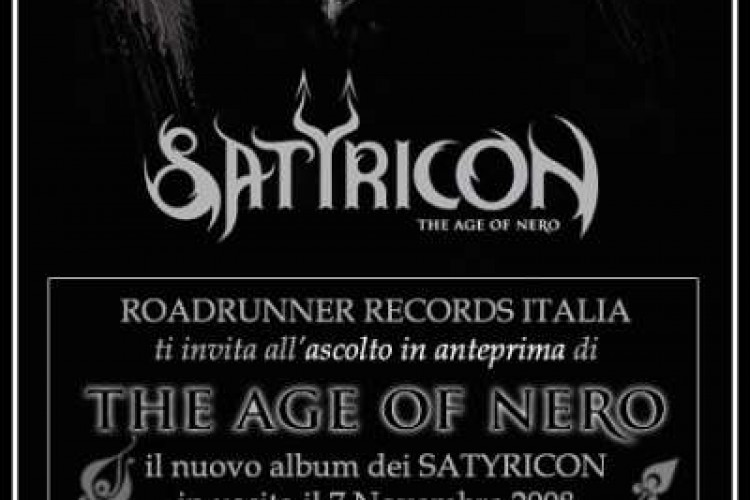 Satyr presenta il nuovo album dei Satyricon
